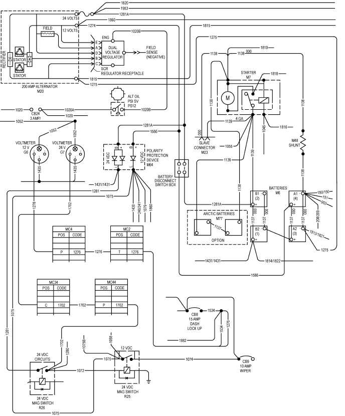 figure 2 40 charging system wiring schematic 200 amp charging system wiring schematic 200 amp battery disconnect switch sheet 2 of 2