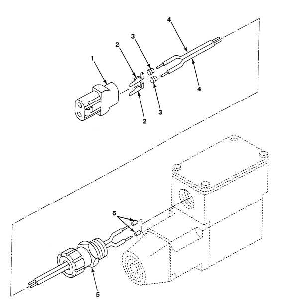 fig  154 fan control solenoid valve wiring harness