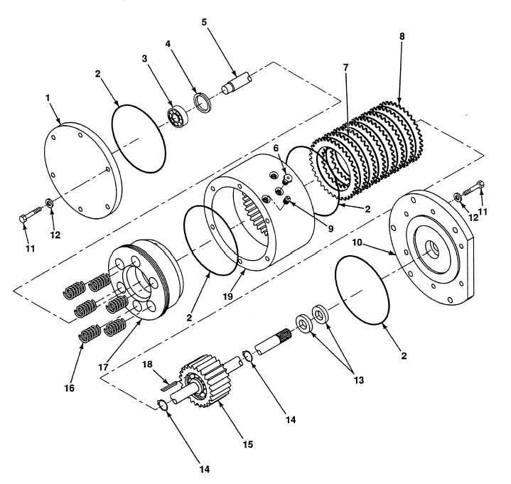 Fig 380 Hoist Brake Assembly