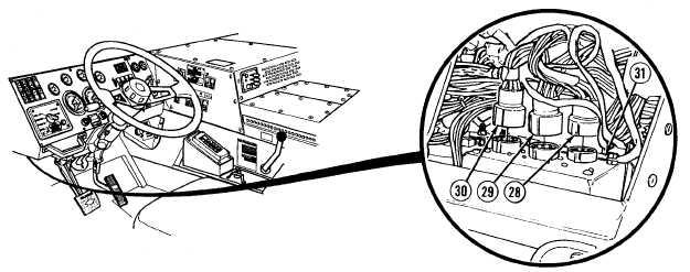 ecb  atec ddec wire harness connector
